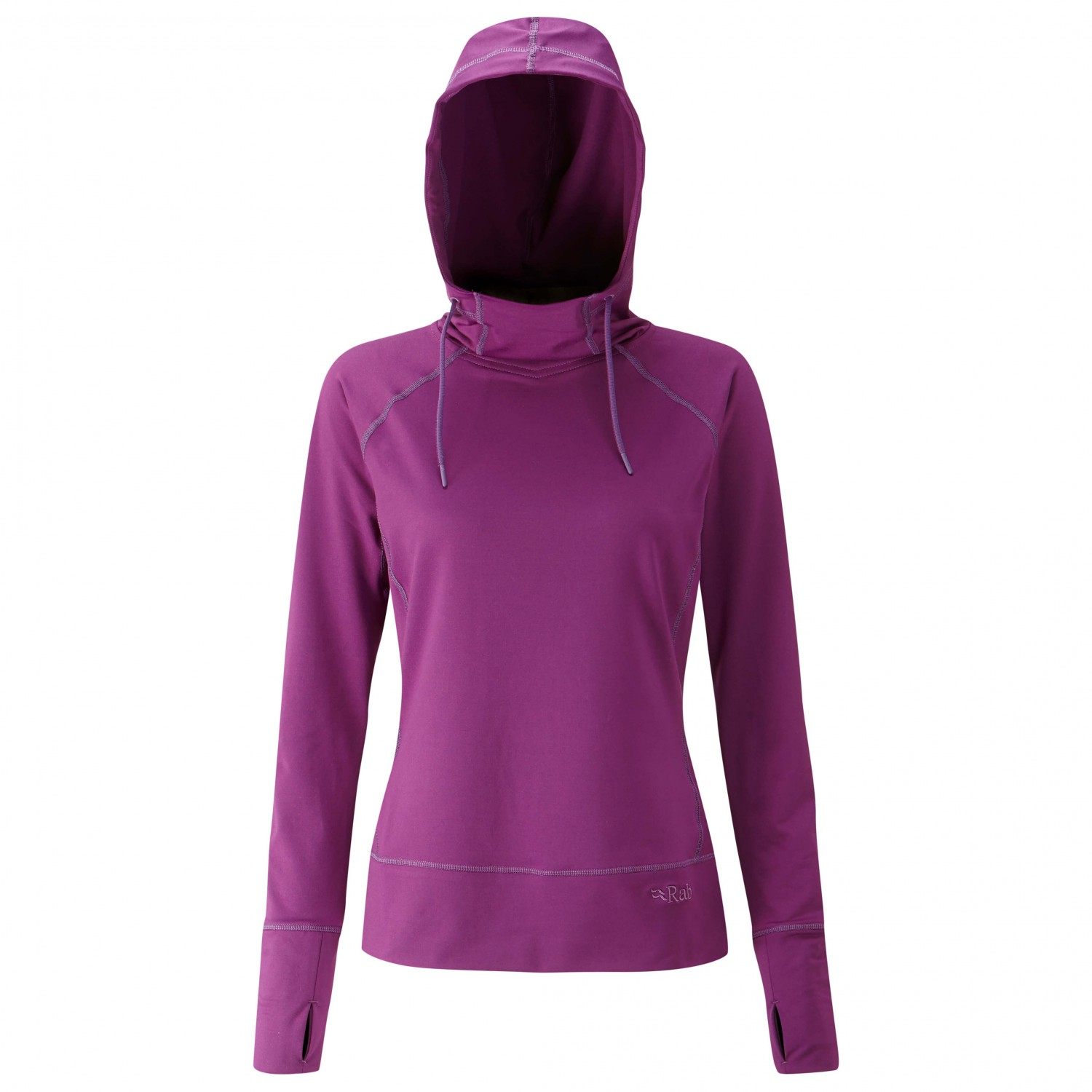 low priced b604e 77a84 Rab - Women's Cipher Hoodie - Pullover - Anthracite | 8 (UK)