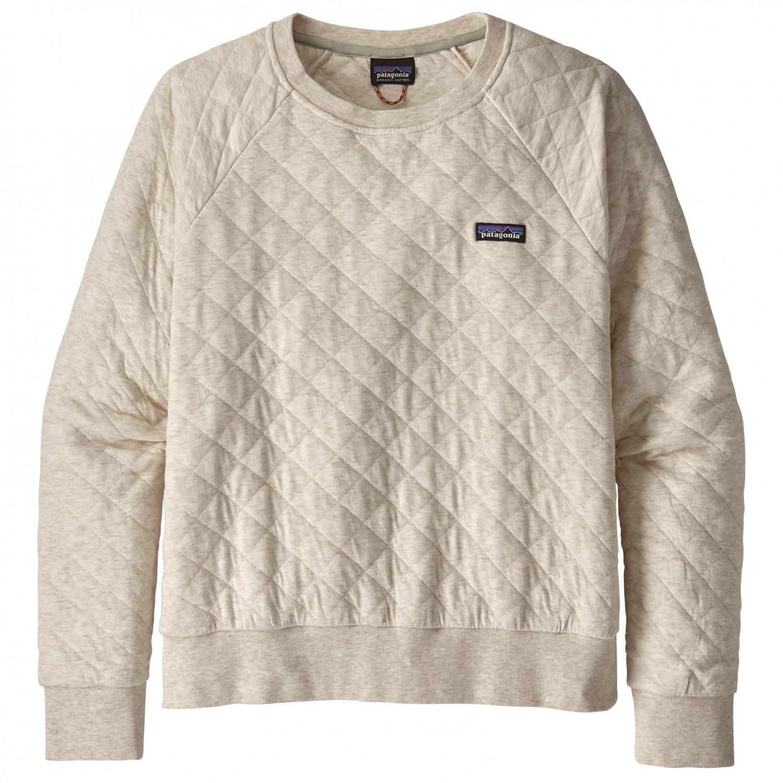 buy popular 23568 8ec70 Patagonia - Women's Cotton Quilt Crew - Pullover - Dyno White | XS