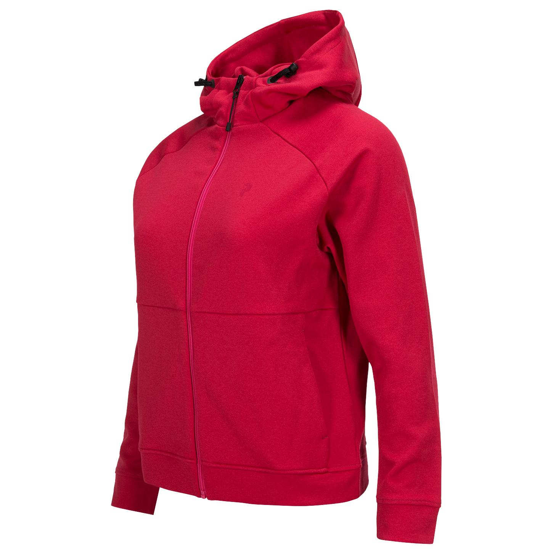 size 40 972ed 387cb Peak Performance - Women's Pulse Zip Hoody - Pullover - Pink Planet | XS