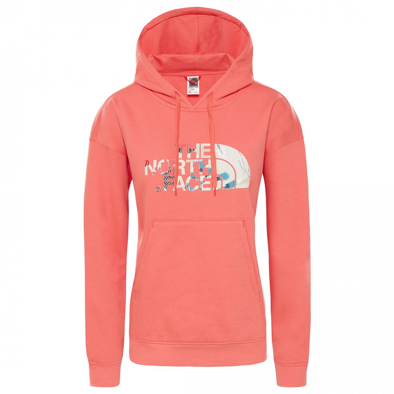 9e90e1e2a The North Face - Women's Light Drew Peak Hoodie - Spiced Coral | XS