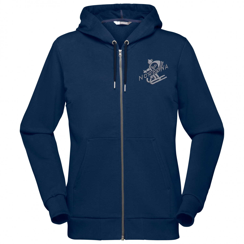 free shipping 7d003 5447a Norrøna - Women's /29 Cotton Zip Hoodie - Pullover - Crisp Ruby | XS