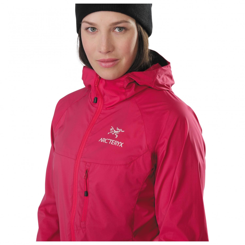 ff6270bd3ab Arc'teryx Squamish Hoody - Windproof Jacket Women's | Free UK ...