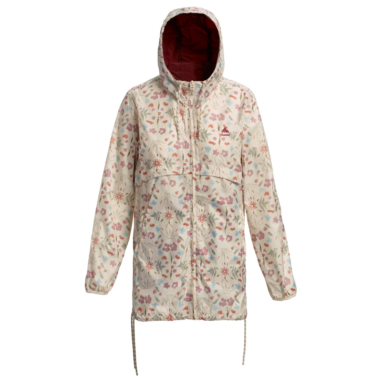 reputable site ec3f0 cec5c Burton - Women's Hazlett Packable Jacket - Windjacke - Creme Fresh Pressed  | S