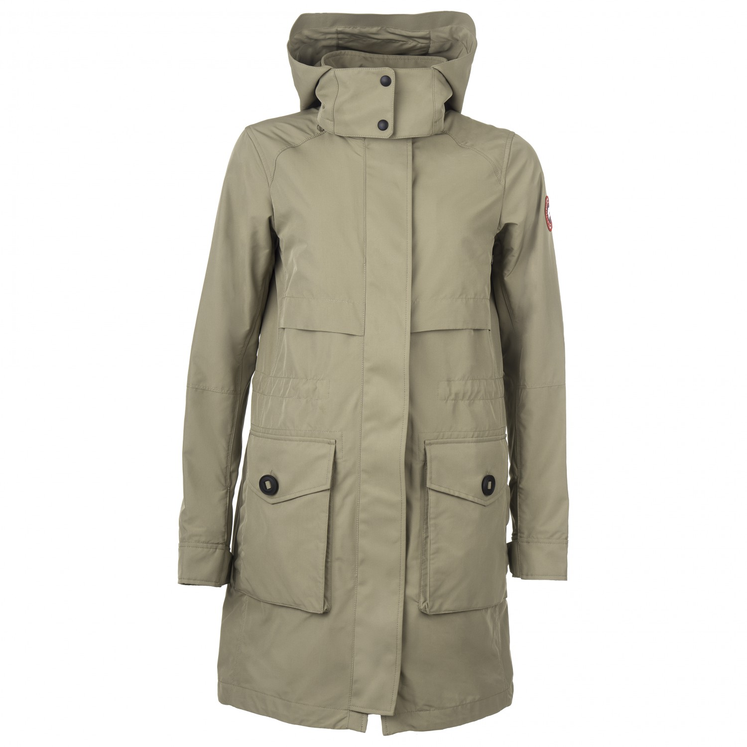 Canada Goose Women's Cavalry Trench Coupe vent Black | XS