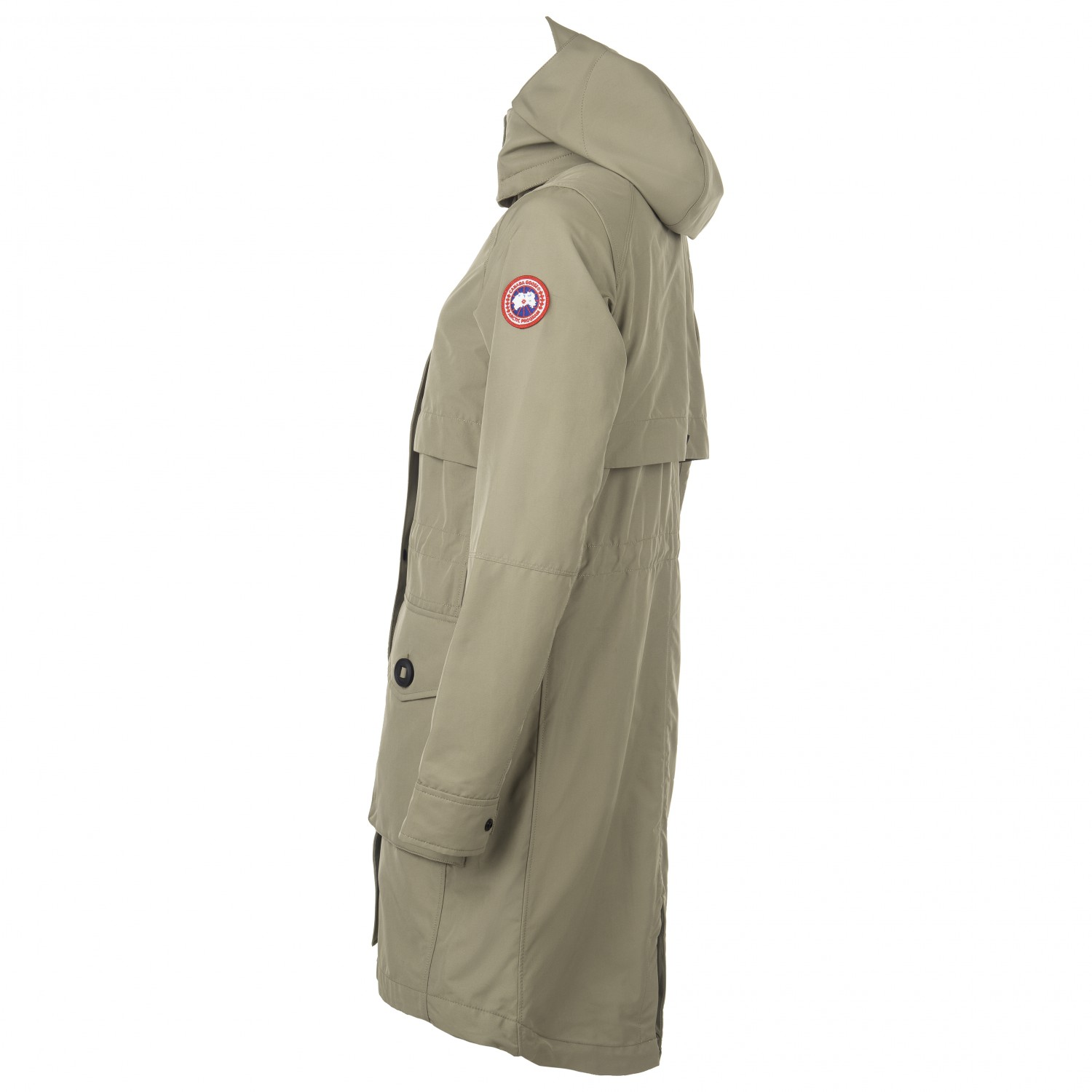 Canada Goose Women's Cavalry Trench Coupe vent Black   XS