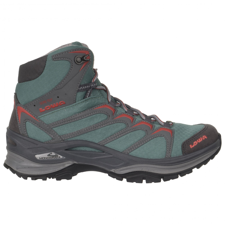 c0f9701565c Lowa - Women's Innox GTX Mid - Walking boots - Schwarz / Beere | 3,5 (UK)