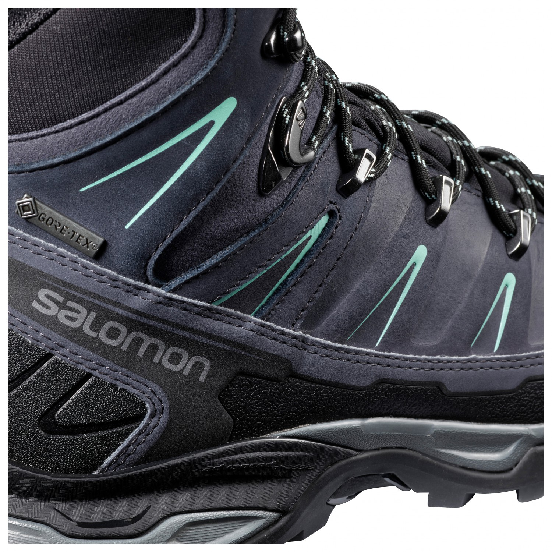 Salomon Women's X Ultra Trek GTX Walking boots Black Magnet Mineral Gray | 5 (UK)