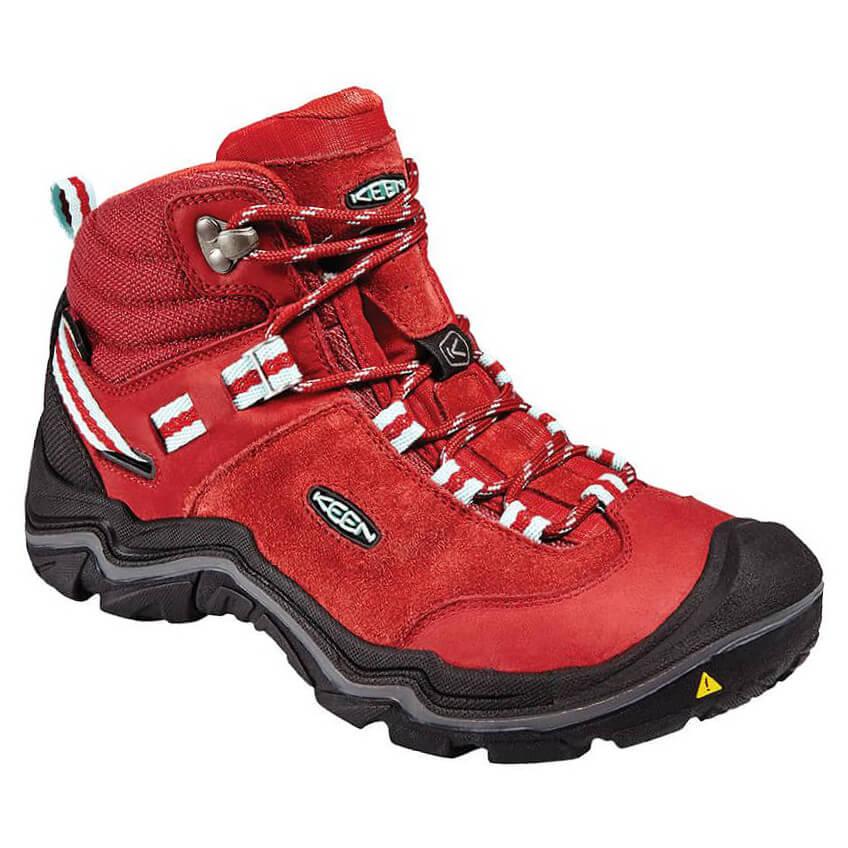 the latest d244a e101c Keen - Women's Wanderer WP - Walking boots - Chili Pepper / Gargoyle | 6  (US)