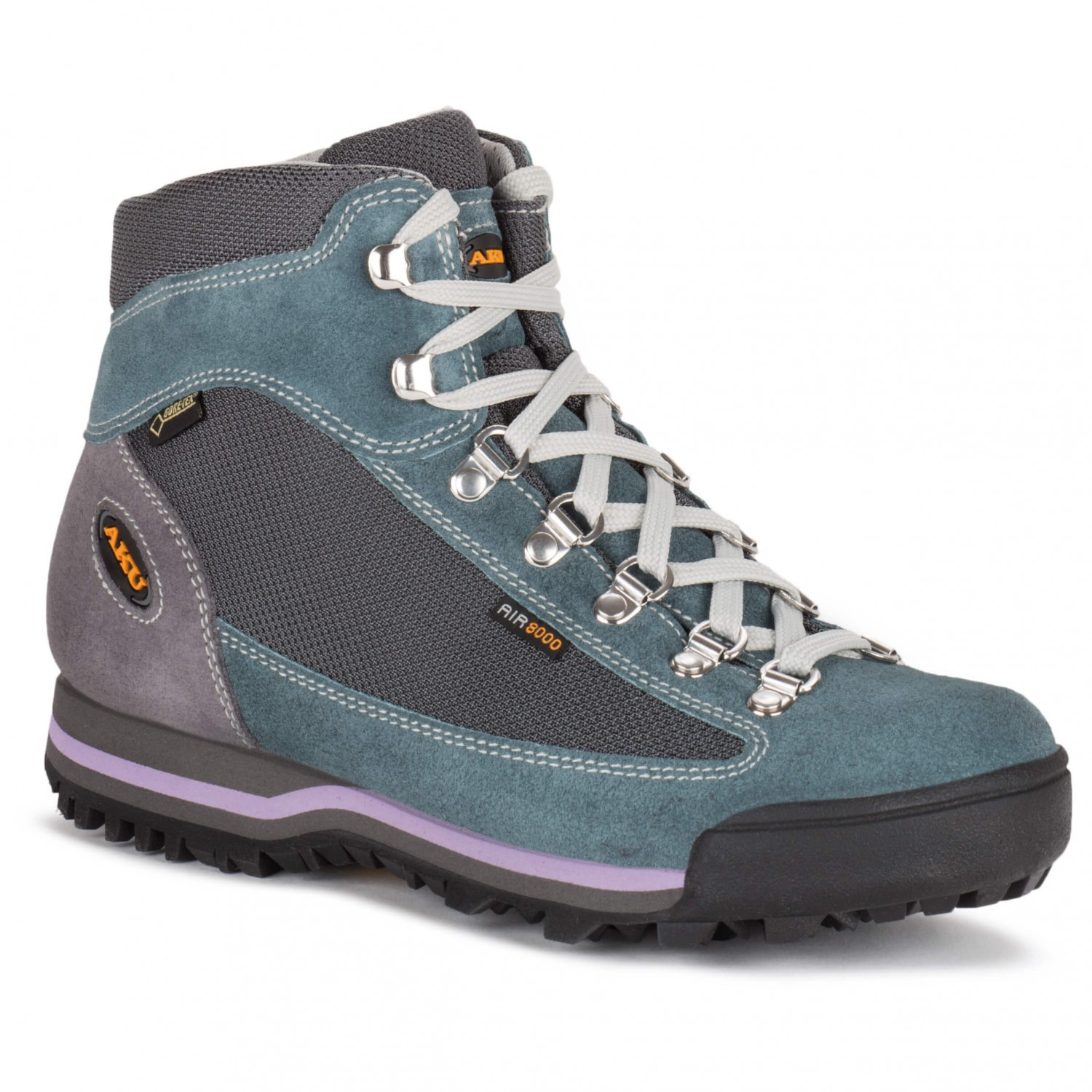 AKU - Women's Ultralight Micro GTX - Wanderschuhe Grey / Sugar Paper