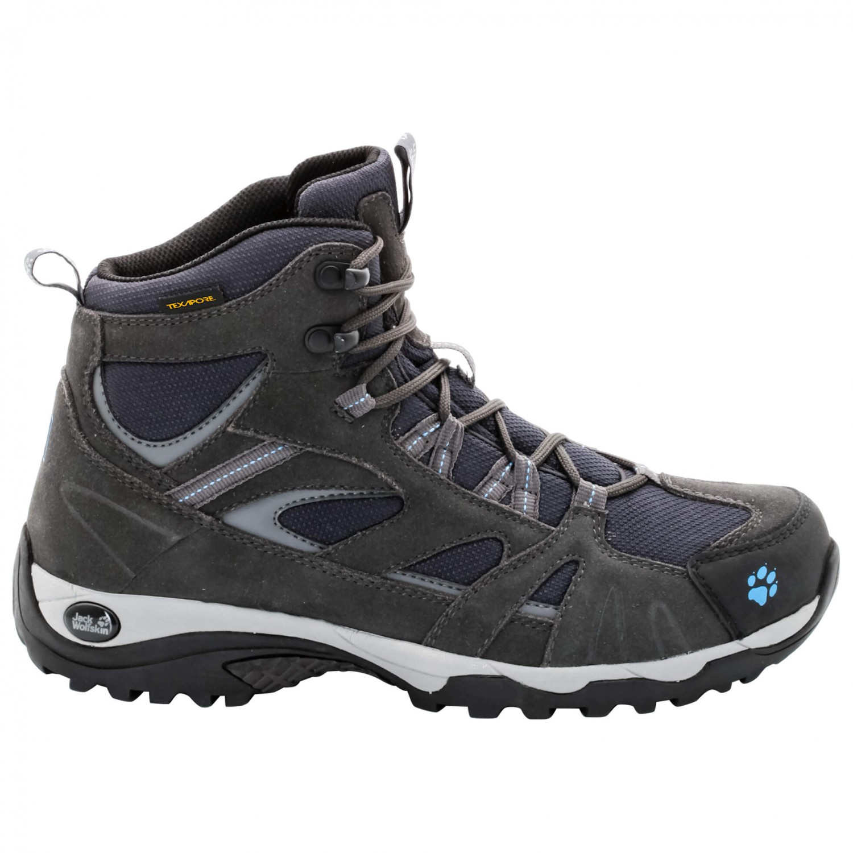 Jack Wolfskin - Vojo Hike Mid Texapore Women - Wanderschuhe Gr 8 schwarz hYUsL0S7u