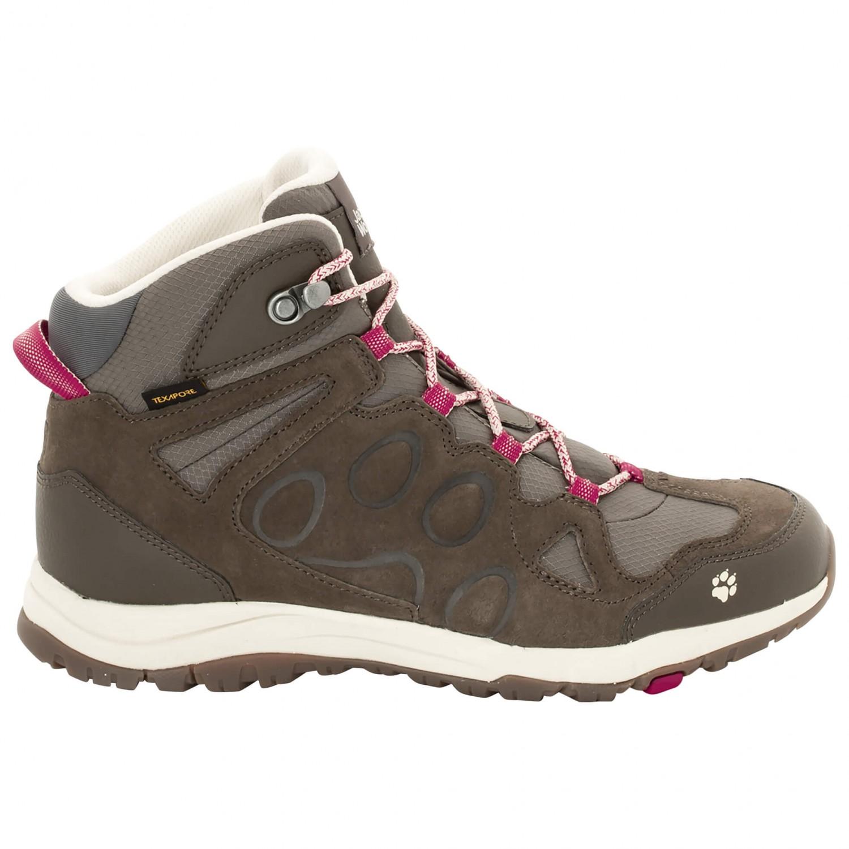 Jack Wolfskin Women's Rocksand Texapore Mid Walking boots