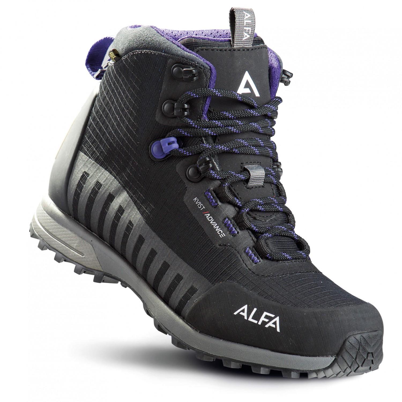 Alfa - Women's Kvist Advance GTX - Wanderschuhe Lavandel / Black