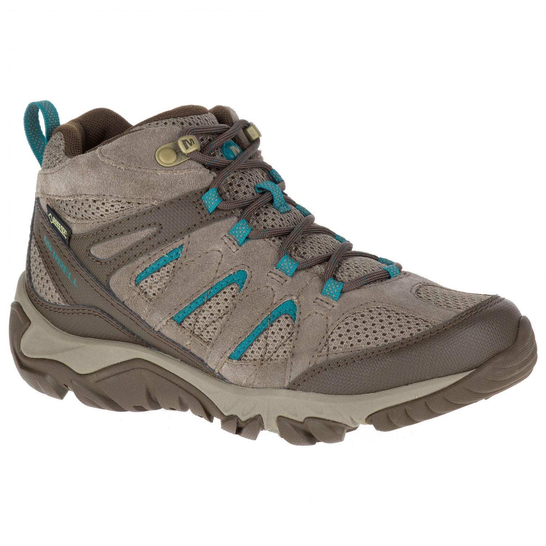 Walking Mid Merrell Black37eu Boots Vent Gtx Women's Outmost qUpzGSMV