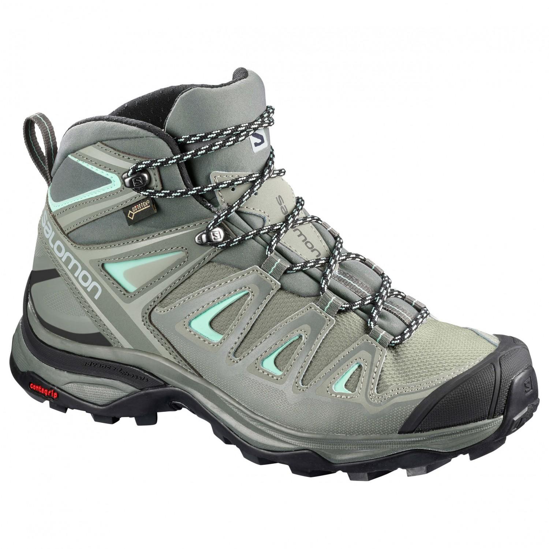 Salomon Women's X Ultra 3 Mid GTX Chaussures de randonnée Magnet Black Monument | 4 (UK)