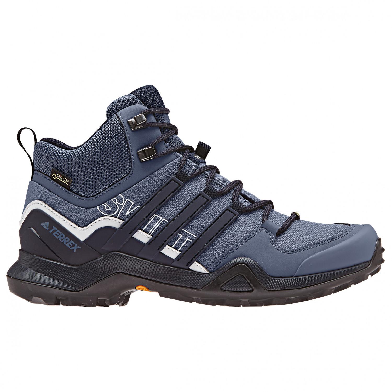 f6d0447127f adidas - Women's Terrex Swift R2 Mid GTX - Walking boots - Core Black /  Core Black / Ash Green | 3,5 (UK)