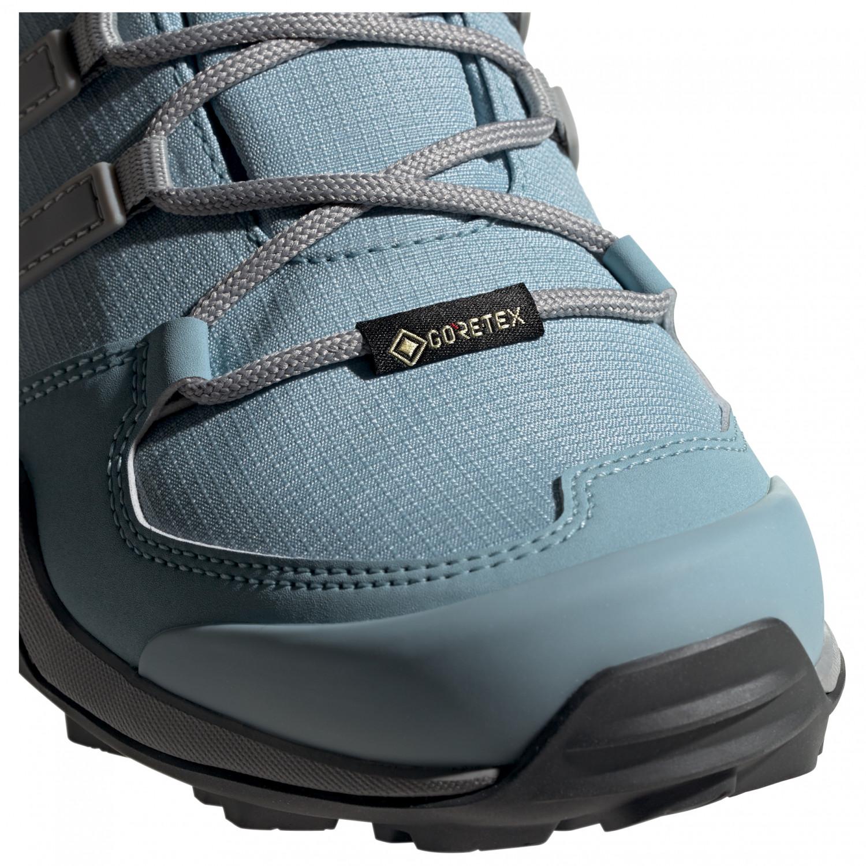 adidas Women's Terrex Swift R2 Mid GTX Chaussures de randonnée Core Black Dgh Solid Grey Purple Tint | 4 (UK)