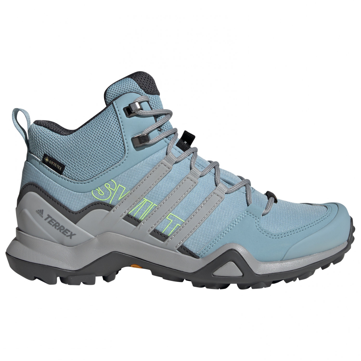 adidas - Women's Terrex Swift R2 Mid GTX - Walking boots - Legend Earth /  Legacy Green / Ash Grey S18 | 4,5 (UK)