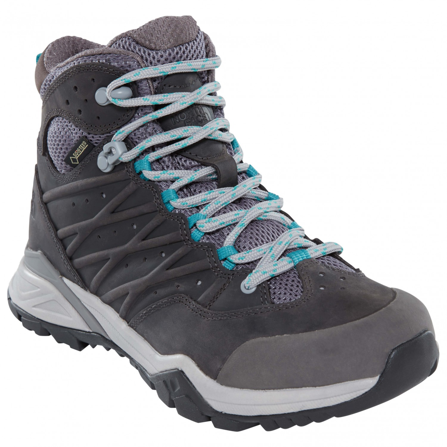 d778963c8 The North Face - Women's Hedgehog Hike II Mid GTX - Walking boots - Q /  Silver Grey / Porcelain Green | 6,5 (US)