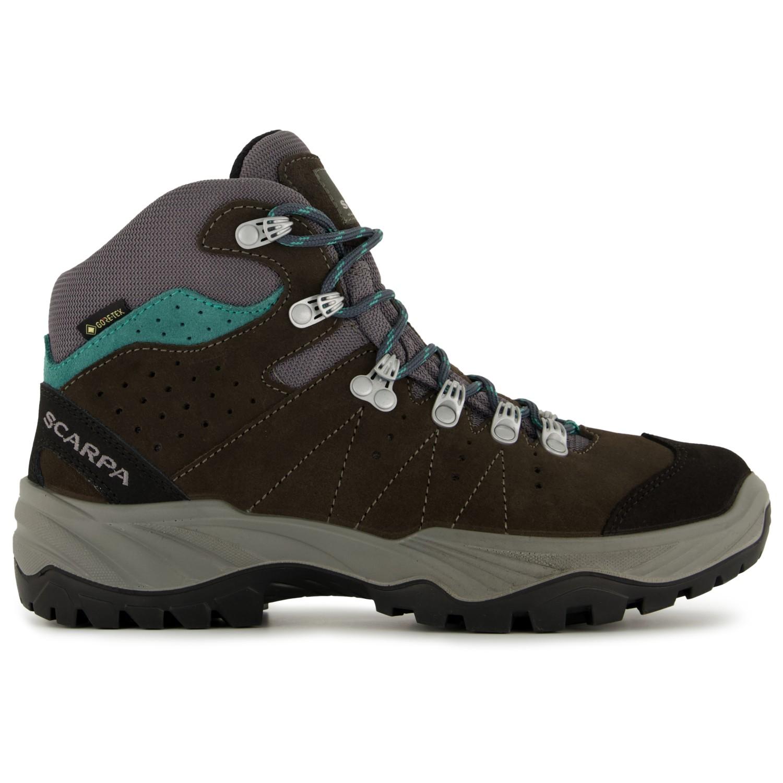 fb5b0b86385 Scarpa - Women's Mistral GTX - Walking boots - Smoke / Lagoon | 37 (EU)
