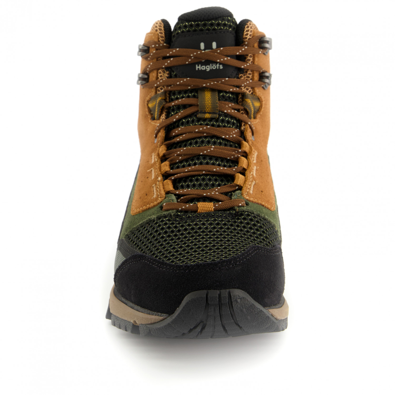 Haglofs Womens Skuta Mid Proof Eco Walking Shoes Black Sports Outdoors Trainers