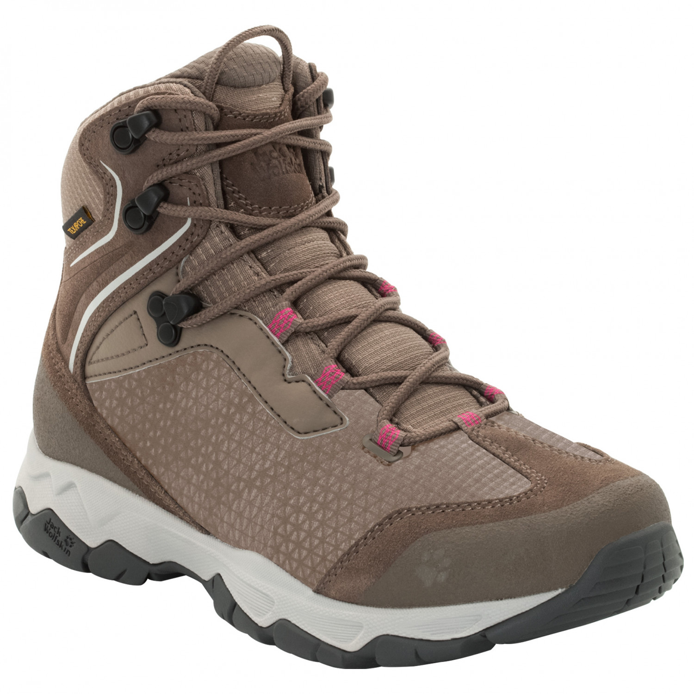 Phantom4uk Wolfskin Jack Women's Rock Texapore Boots Mid Walking Hunter 4j3L5AR
