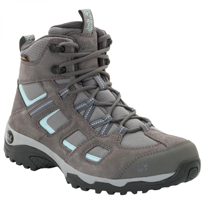 first look authentic half price Jack Wolfskin - Women's Vojo Hike 2 Texapore Mid - Wanderschuhe - Tarmac  Grey | 3,5 (UK)