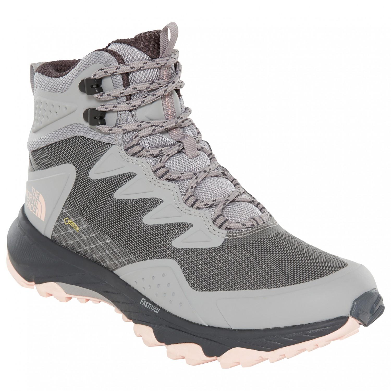 d8b5e6166 The North Face - Women's Ultra Fastpack III Mid GTX - Walking boots - Meld  Grey / Pink Salt | 6 (US)