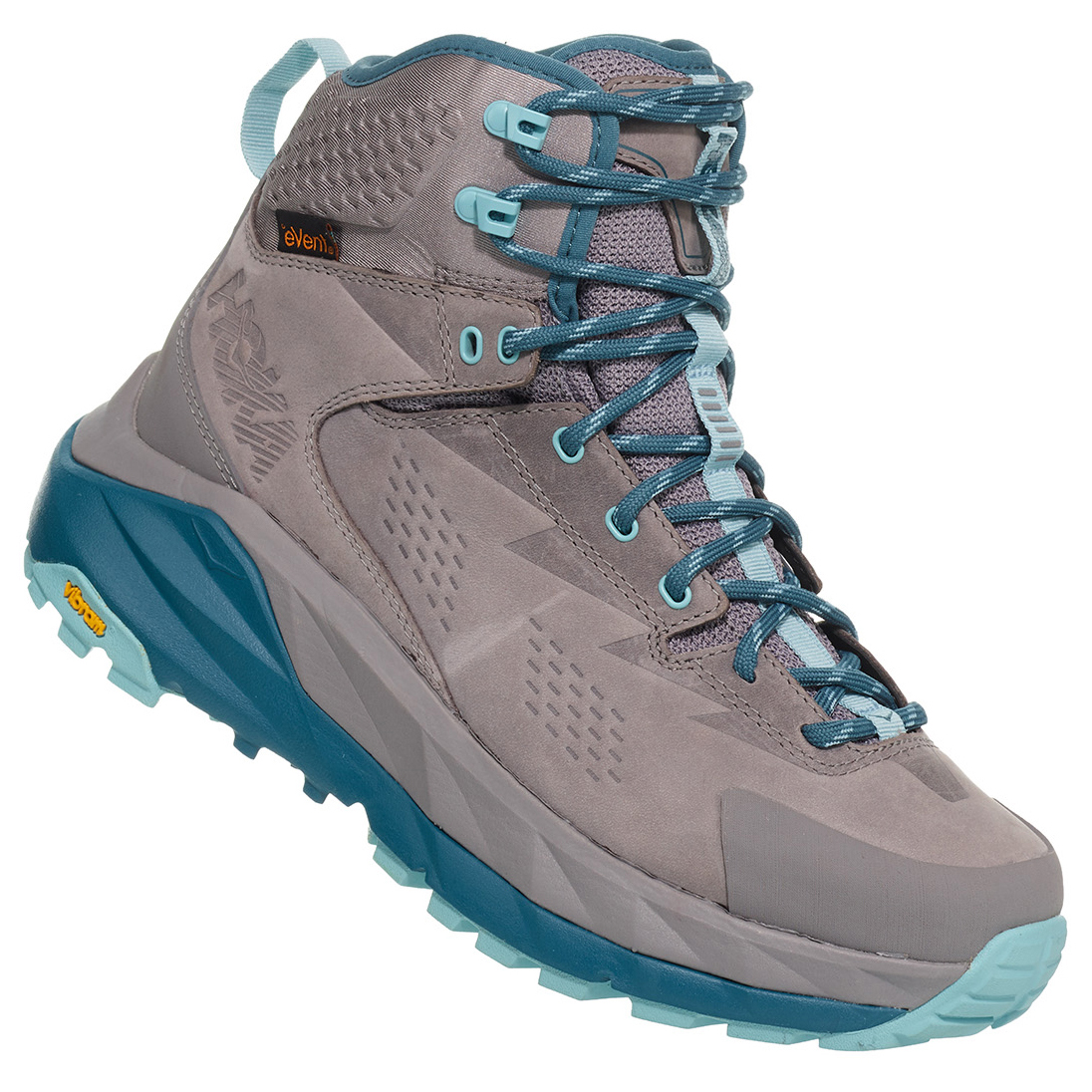 e15ebf70c45 Hoka One One - Women's Sky Kaha - Walking boots - Frost Gray / Aqua Haze |  10 (US)