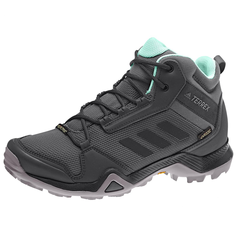 adidas - Women's Terrex AX3 Mid GTX - Wanderschuhe - Grey Five / Core Black  / Clemin | 3,5 (UK)