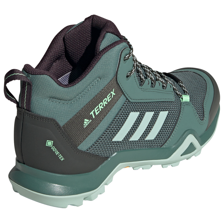 adidas - Women's Terrex AX3 Mid GTX - Walking boots - Grey Five / Core  Black / Clemin | 3,5 (UK)