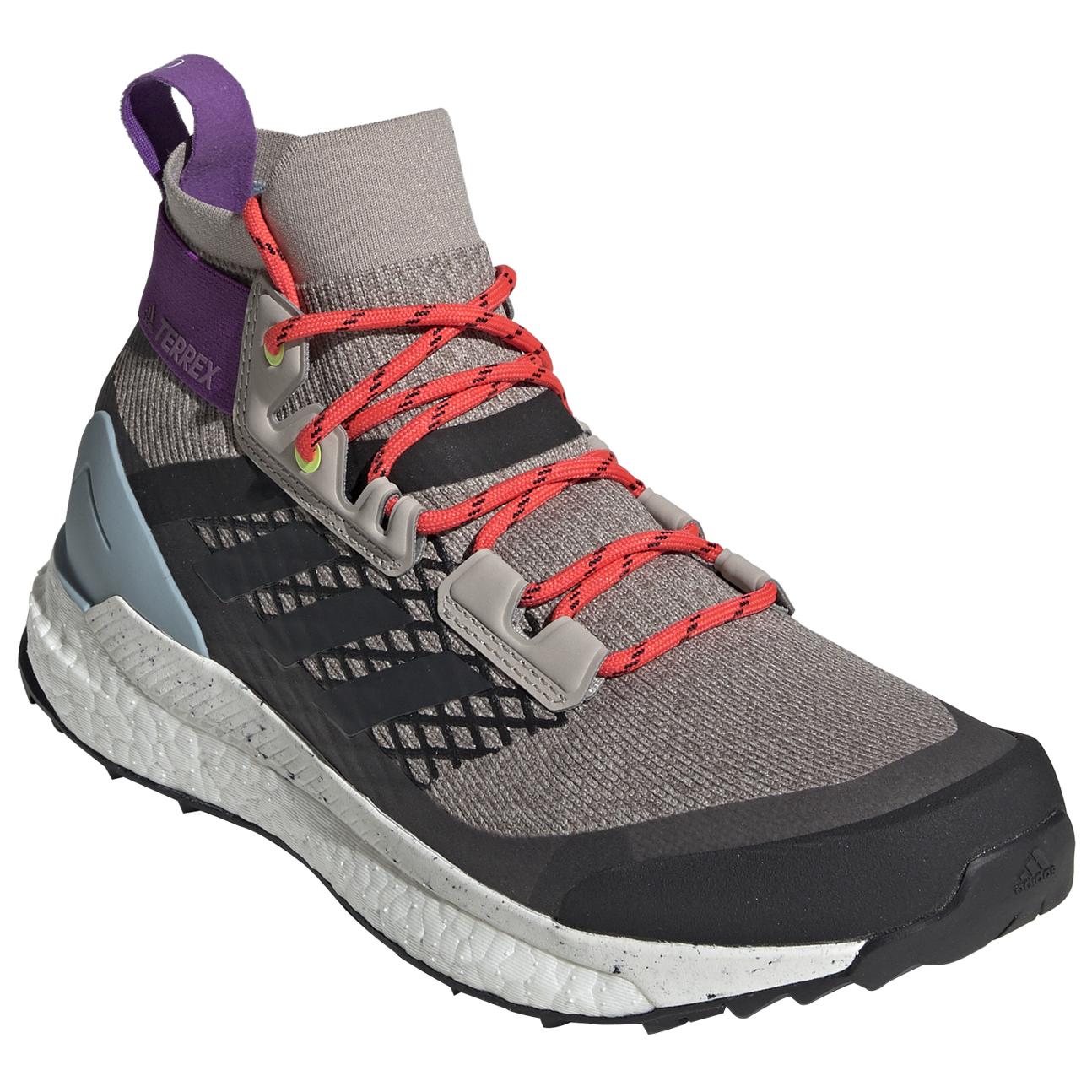 adidas Women's Terrex Free Hiker Botas de trekking Carbon Blutin Ash Grey | 4 (UK)