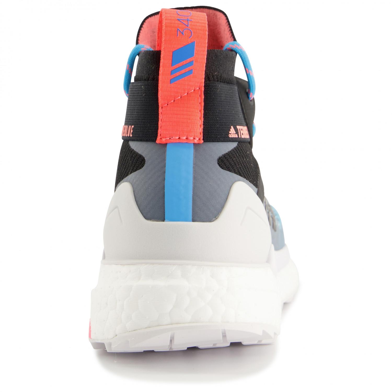 adidas Women's Terrex Free Hiker Chaussures de randonnée Carbon Blutin Ash Grey | 4 (UK)