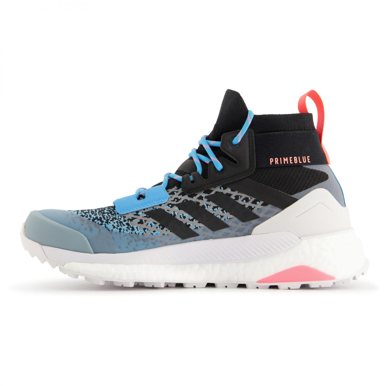 adidas Women's Terrex Free Hiker Vandringskängor Lgh Solid Grey Legend Ink Purple Tint | 4 (UK)
