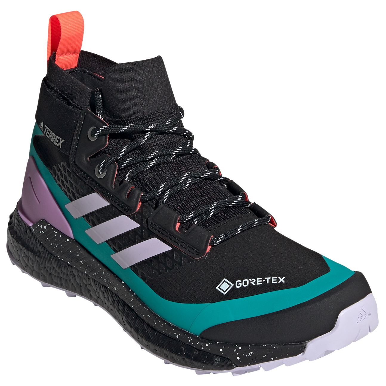adidas TERREX Free Hiker Gore Tex Wanderschuhe Damen chalk