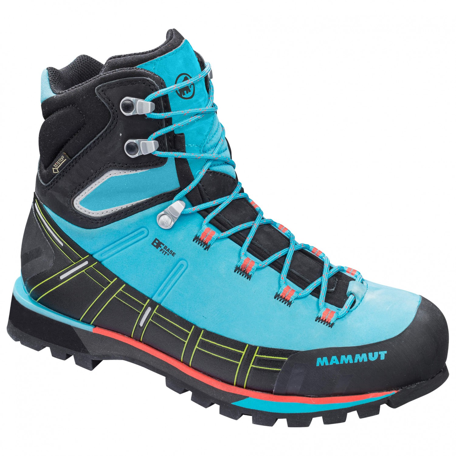 Mammut Kento High GTX Shoes Women arctic-black UK 4,5