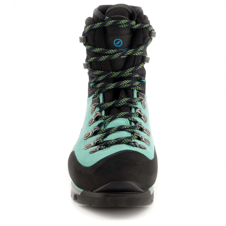Scarpa Women's Mont Blanc Pro GTX Chaussures de montagne Green Blue | 38 (EU)