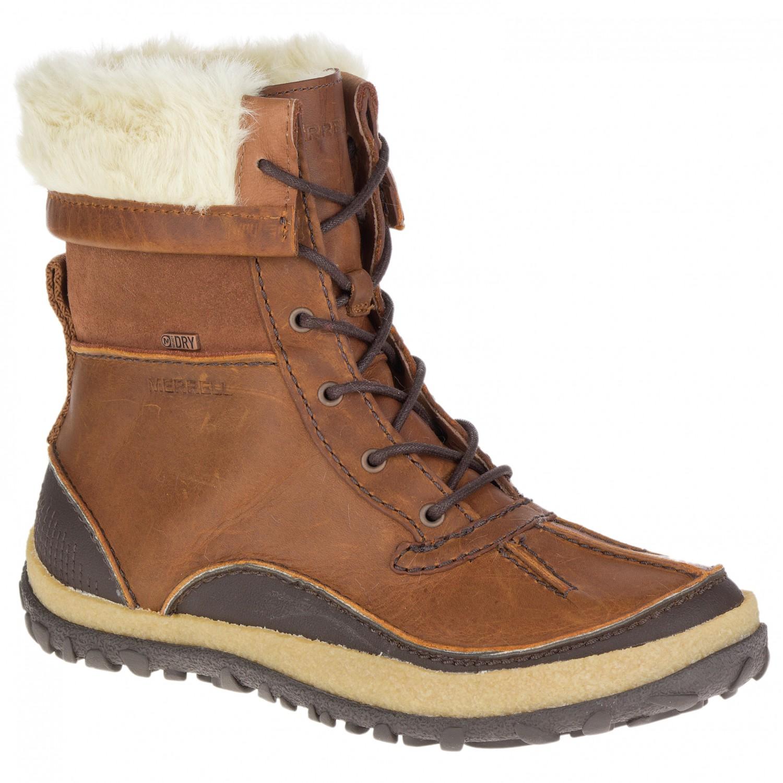 myydään maailmanlaajuisesti söpö halpa rajoitettu guantity Merrell - Women's Tremblant Mid Polar Waterproof - Winter boots - Black |  37,5 (EU)