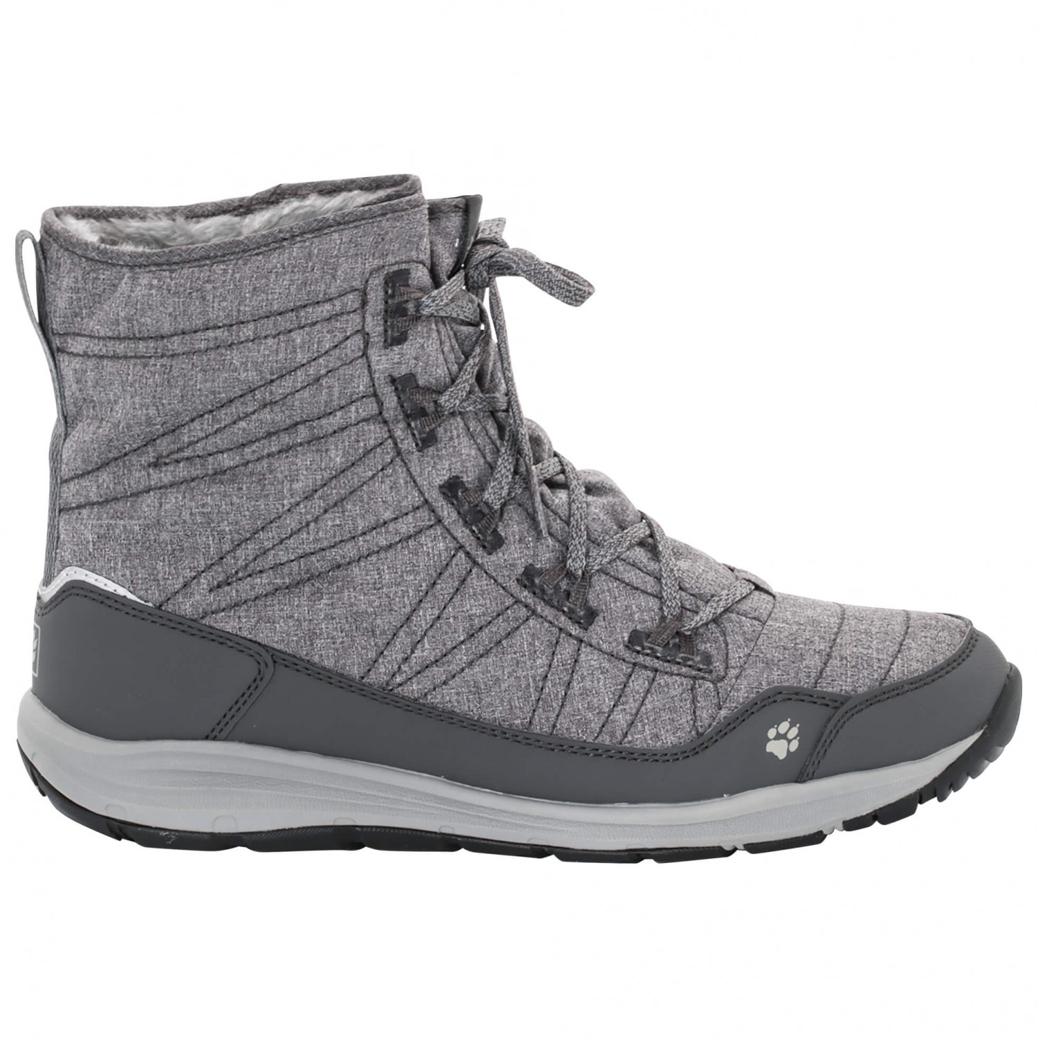 new arrival ac1d0 7ba39 Jack Wolfskin - Women's Portland Boot - Winterschuhe - Black | 4,5 (UK)