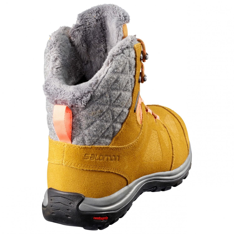 separation shoes bb7fb eb772 Salomon - Women's Ellipse Winter GTX - Winterschuhe - Black / Phantom /  Cerise | 5,5 (UK)
