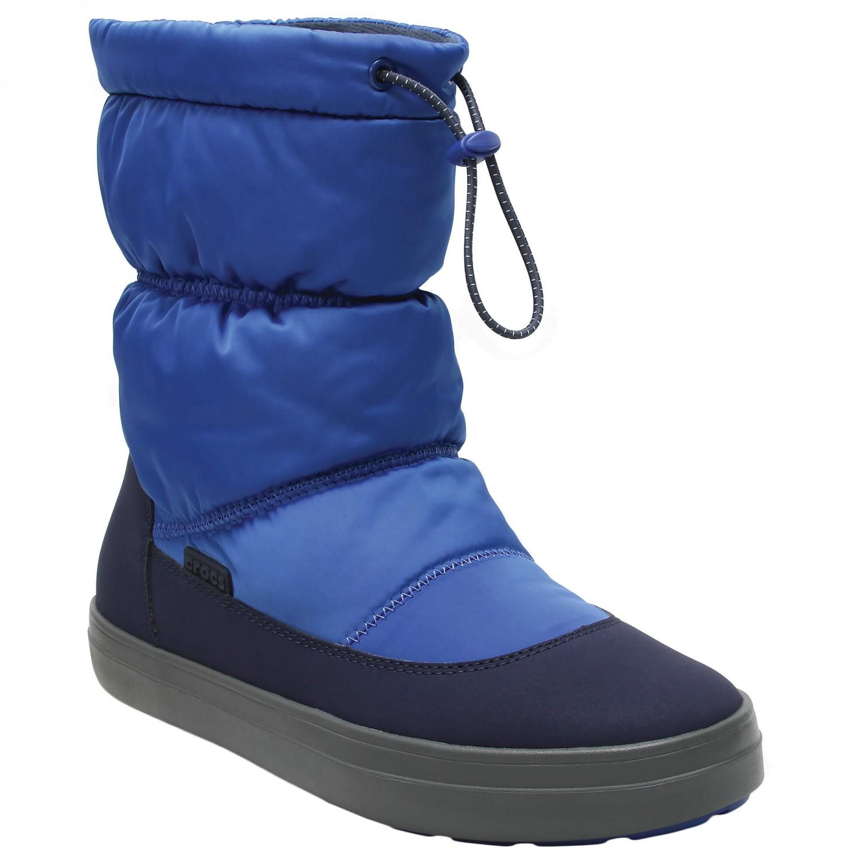 e792ec2b86ba Crocs - Women s LodgePoint Shiny Pull-On - Winter boots ...