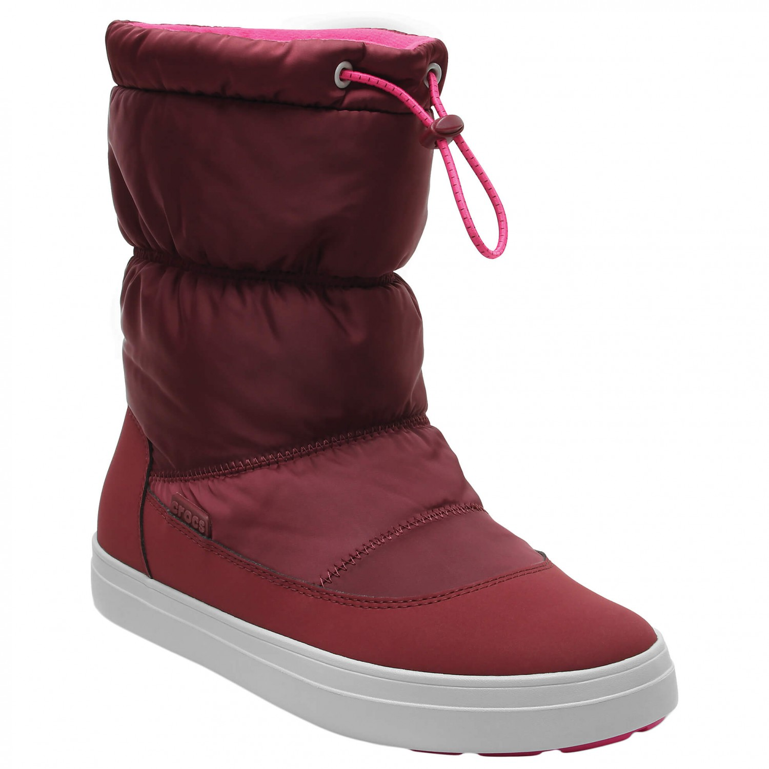 c3ee9a6f76c4b Crocs - Women s LodgePoint Shiny Pull-On - Winter boots ...