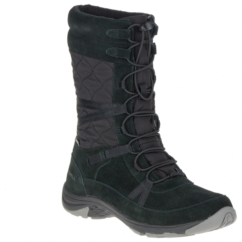 c5c5a0543c Merrell - Women's Approach Tall - Winter boots - Black | 37 (EU)