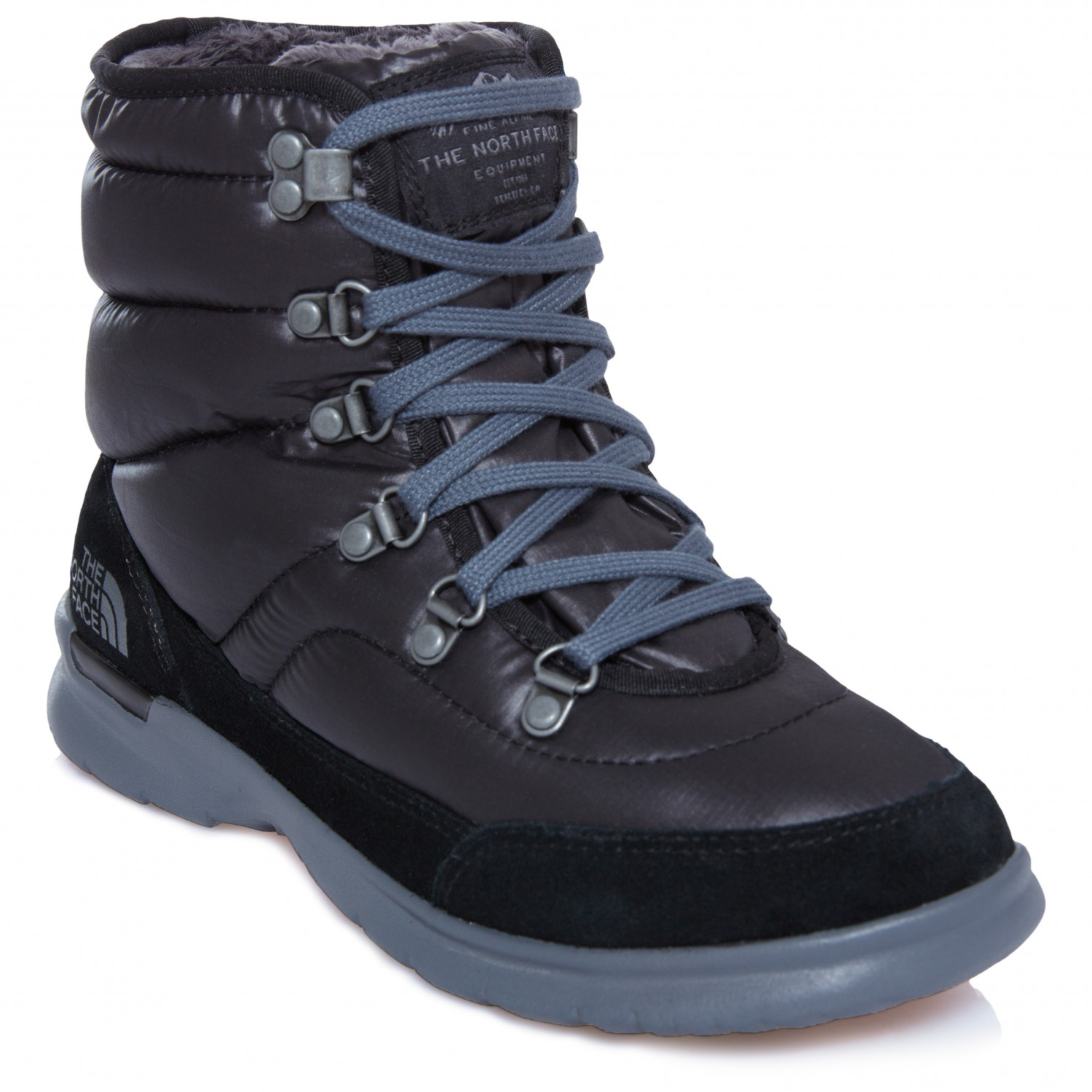 e2c3af9ad The North Face - Women's Thermoball Lace II - Winter boots - Burnished  Houndstooth Print / Blue Haze | 11 (US)