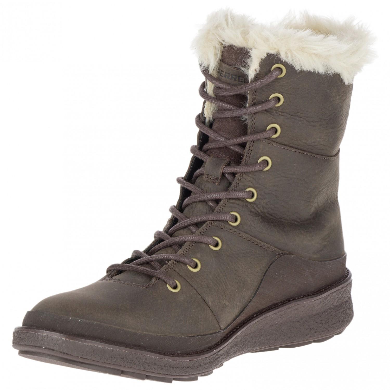 2db50fb6 Merrell - Women's Tremblant Ezra Lace Polar Waterproof - Winter boots -  Black | 36 (EU)