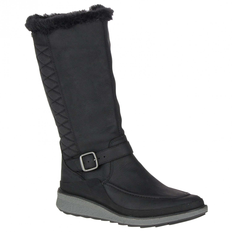 d22b9528e4 Merrell - Women's Tremblant Ezra Tall Polar Waterproof - Winter boots -  Black   42,5 (EU)