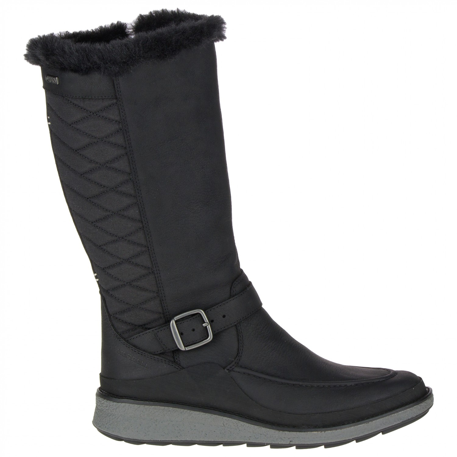 6a90ce84b5 Merrell - Women's Tremblant Ezra Tall Polar Waterproof - Winter boots -  Black | 42,5 (EU)