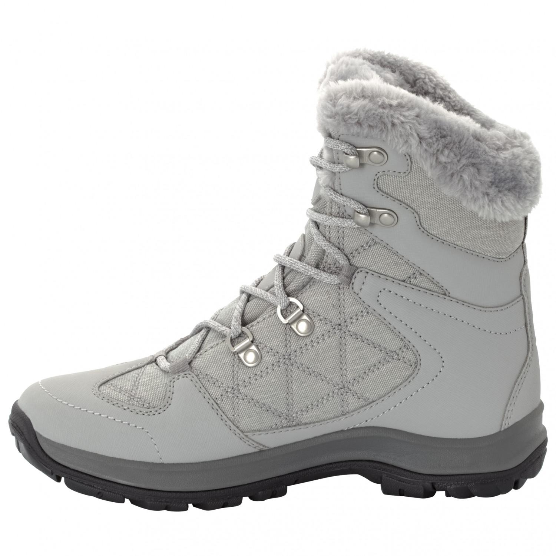 promo code 4d872 0701b Jack Wolfskin - Women's Thunder Bay Texapore Mid - Winterschuhe - Light  Grey / Grey | 4 (UK)