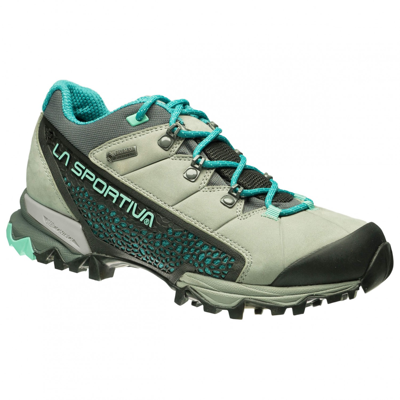La Sportiva Genesis GTX Shoes Women Grey/Mint 37,5 2018 Trekking- & Wanderschuhe
