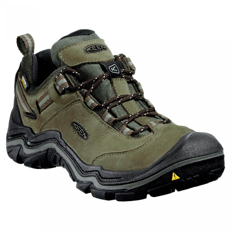 Keen Wanderer WP Shoes Women Dark Earth/Brindle US 6,5
