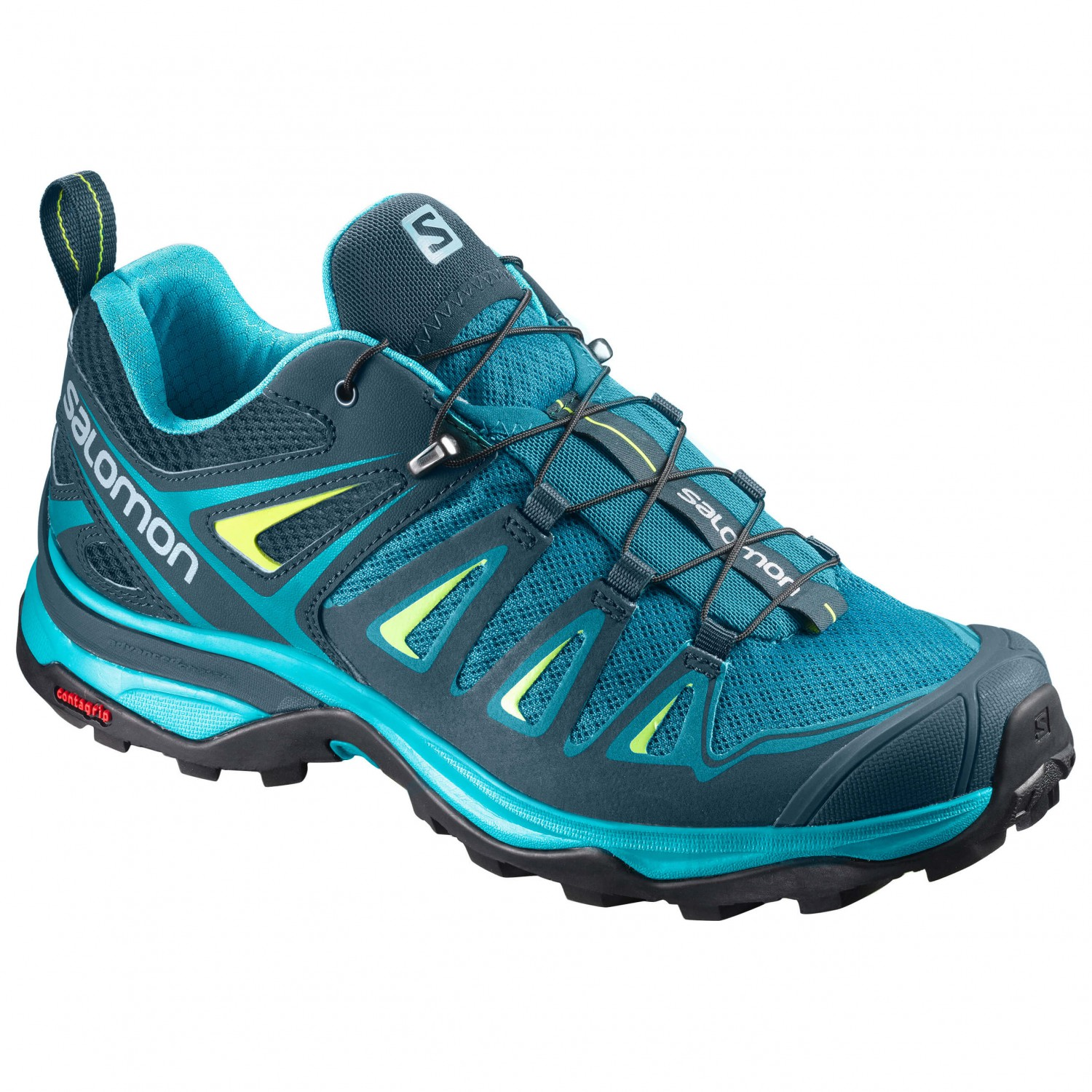 Salomon - Women's X Ultra 3 - Multisportschuhe Tahitian Tide / Reflecting Pond / Lime Punch